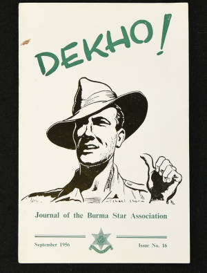 DEKHO! The Journal of The Burma Star Association - Issue No. 016, Year 1956