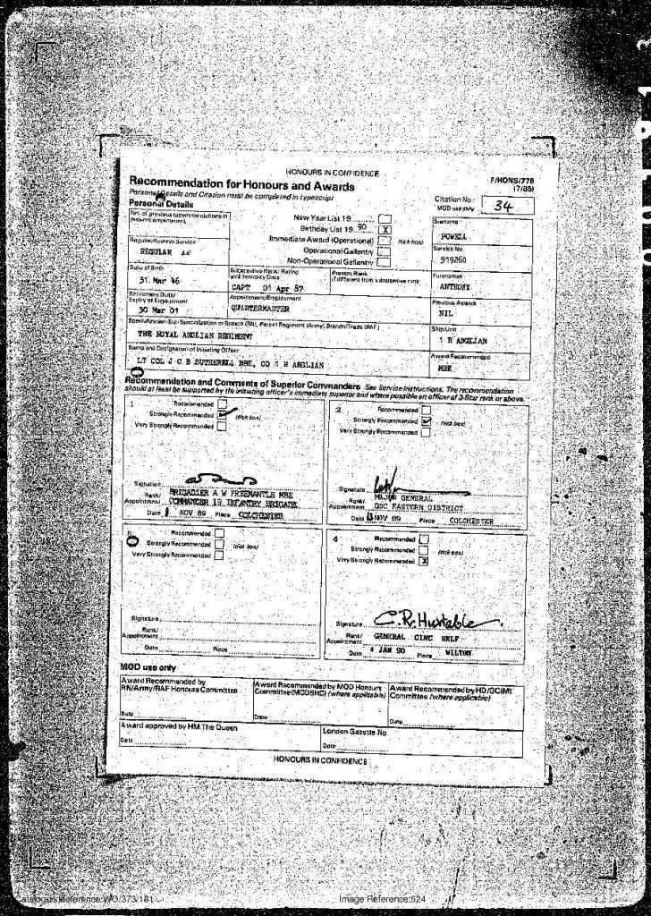 309 Powell MBE citation 14 Jun 90-1.jpg