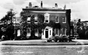 The Old Golf Club, Morden Park House, Morden