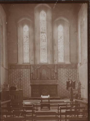 Interior of Bishop's Court, c1900, Exeter