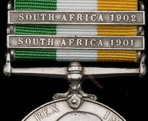 King's South Africa Medal