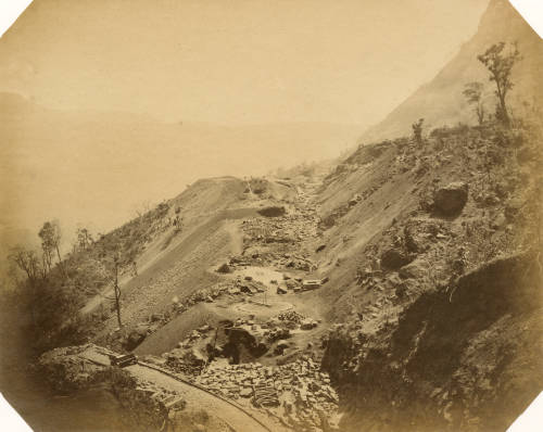 Bhore Ghat cutting
