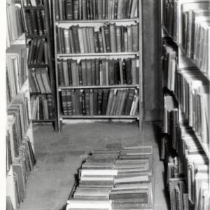 Hereford Library, front basement, c1962