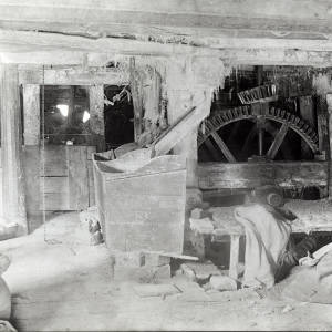Longtown Mill, Herefordshire. interior