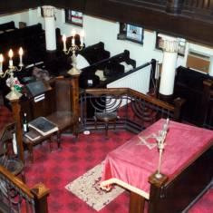 Altar in Jewish Synagogue