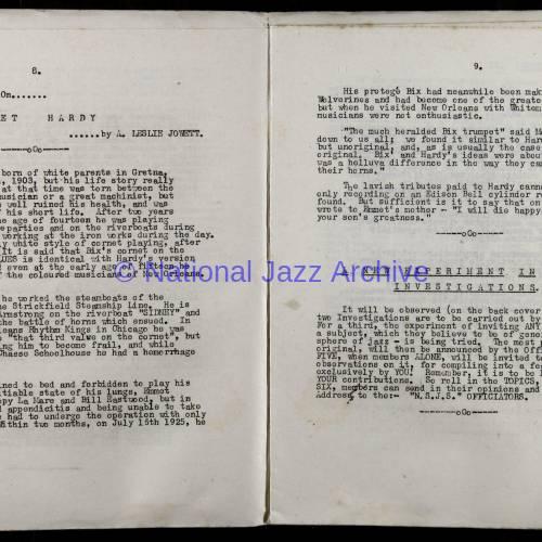 Northern Society For Jazz Study Vol.1 No.4 0005
