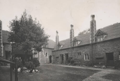 Wynards Almshouses, c1930, Exeter