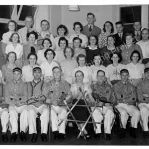 Grenoside Sword and Folk Dancers 1949-50