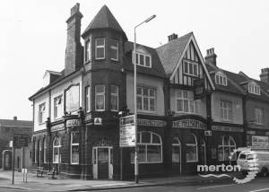 Merton High Street, The Nelson Arms