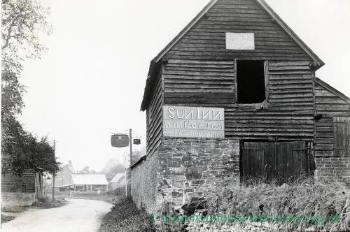 Sun Inn sign, Winforton