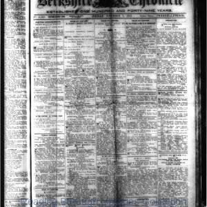 Berkshire Chronicle Reading 11-1919
