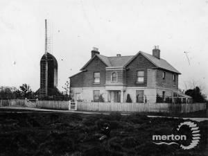 Mitcham Windmill and Mill House, Windmill Road, Mitcham Common.