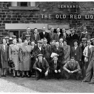 Grenoside Old Red Lion Trip to Thirsk Races 1951