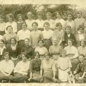 Grenoside Girls Friendly Society at Filey Holiday Home 1922