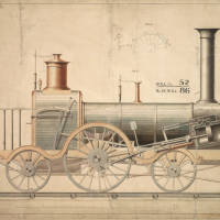 Locomotive patent