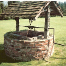 1980s A Well in the Grounds of Houghton Hall