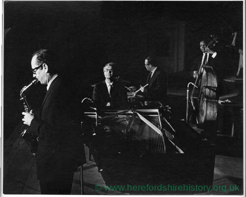 100 - Dave Brubeck group playing at concert