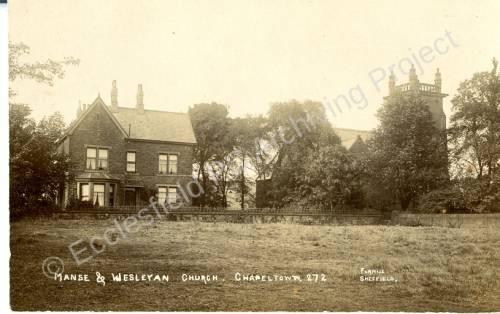 Manse & Methodist Church, Lound Side, Chapeltown