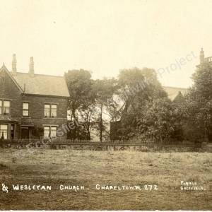 Manse & Methodist Church, Lound Side, Chapeltown