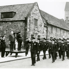 Parade at Alms Houses, Durham
