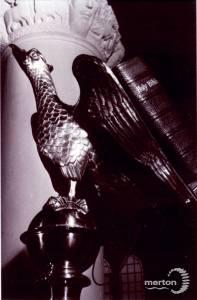 St. Mark's Church, Wimbledon: Eagle lecturn