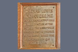 Memorial Plaque - Ingram