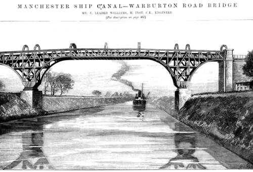Warburton Bridge drawing