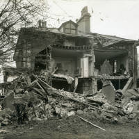 Breeze Hill, bomb damage, Blitz