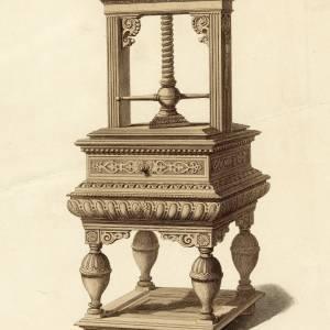 Napkin Press, Goodrich Court, 1835