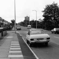 Fernhill Road with Derby Park, Bootle, 1987