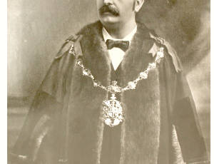 1901-1902, Thomas Rigby Greenough, Mayor of Leigh