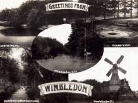 Postcard views of Wimbledon