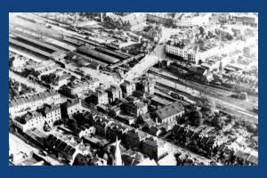 Wimbledon Station, Aerial view