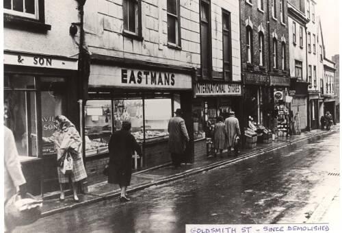 Goldsmith Street, 1963, Exeter