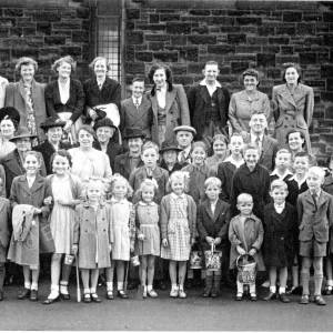 St Mark's Church Grenoside Annual Outing To The Coast 1950