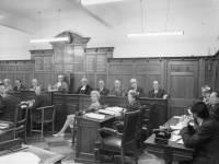 Mayor of Mitcham presiding at a Council meeting