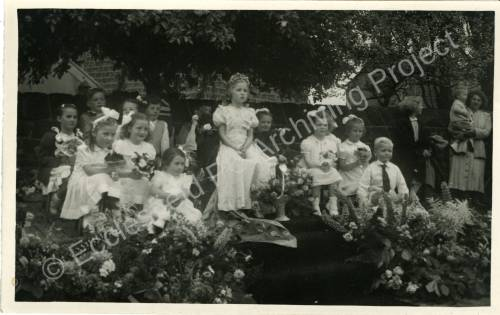 1951. 41st May Queen Florence Rayner (c)