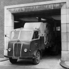 Lorry at Shields Gazette Office