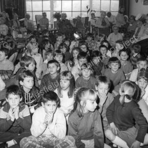 Wortley Road Primary School at Charles Square, Dec.1986.