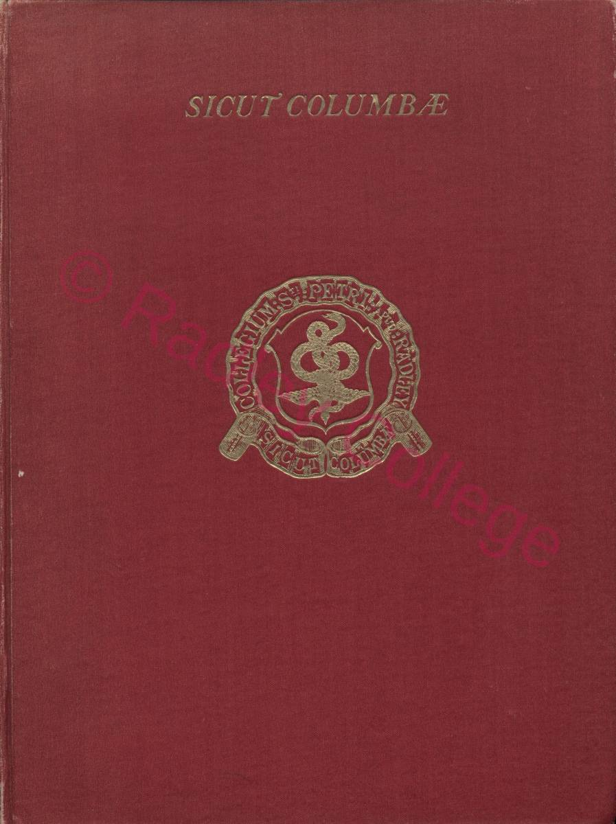 Sicut Columbae - front cover