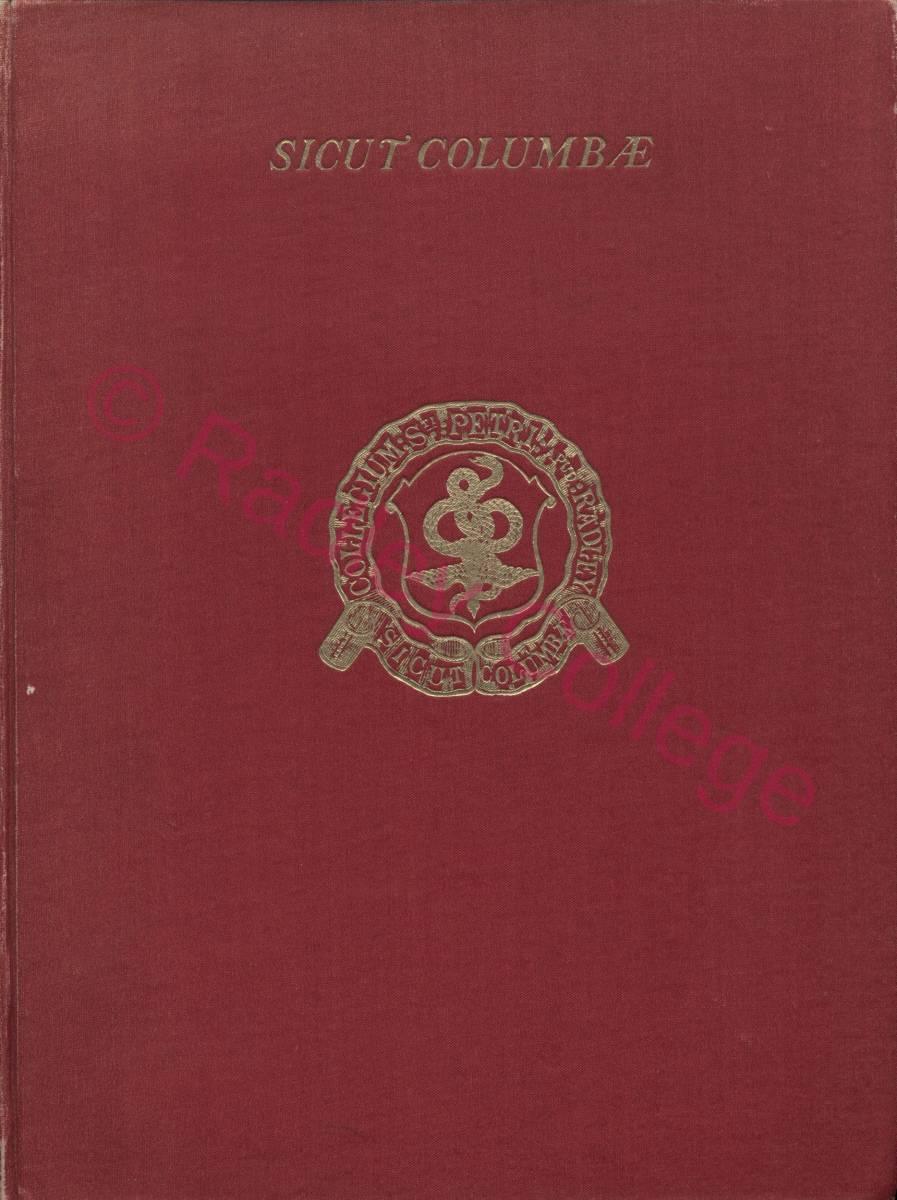 Sicut Columbae - front cover
