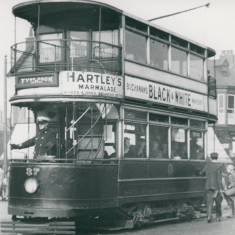 Tram 37 near Town Hall