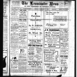 Leominster News - January 1916