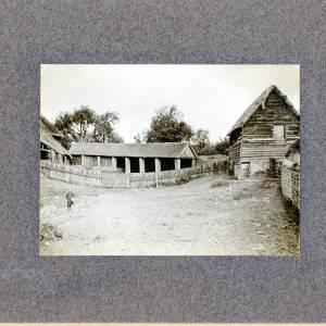 Aylton Court Farm view of stable, 1910