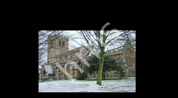 2007 All Saints Church in the Snow.