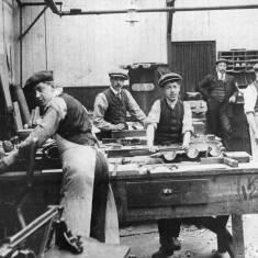 Pattern Making, South Shields Ship Yard
