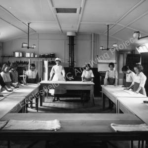 Lound School Domestic Science class, 1920s