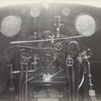 Unidentified locomotive cab (AEC/3/10)