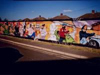 Laburnum Road, Colliers Wood: Children's mural