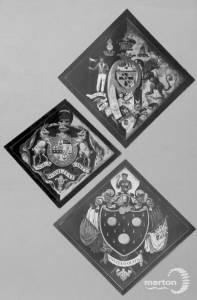 St. Mary's Church, Merton Park: Funerary Hachtments
